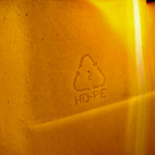 Flotsam recycled plastic lamp