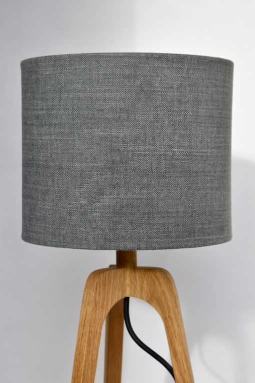 Stornish wooden table lamp