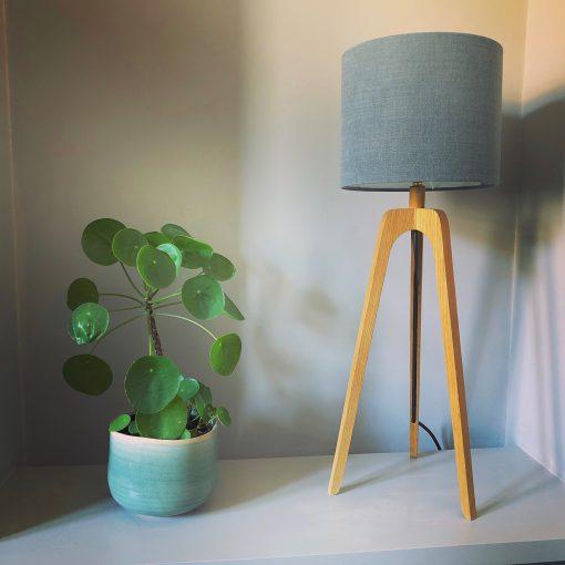 Jonathan Maker wooden table lamp